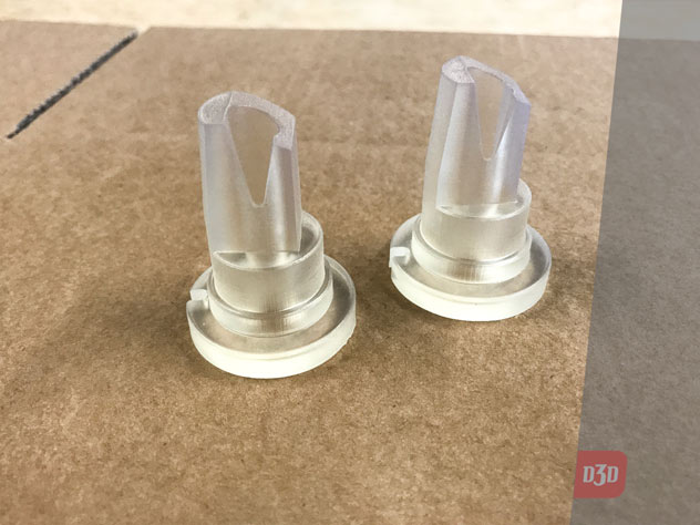 Impression 3d sla transparent